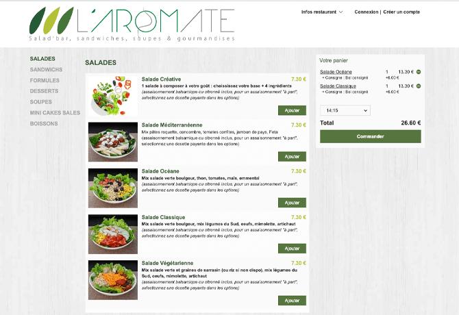 LAromate_portfolio_livepepper_online_ordering_restaurant