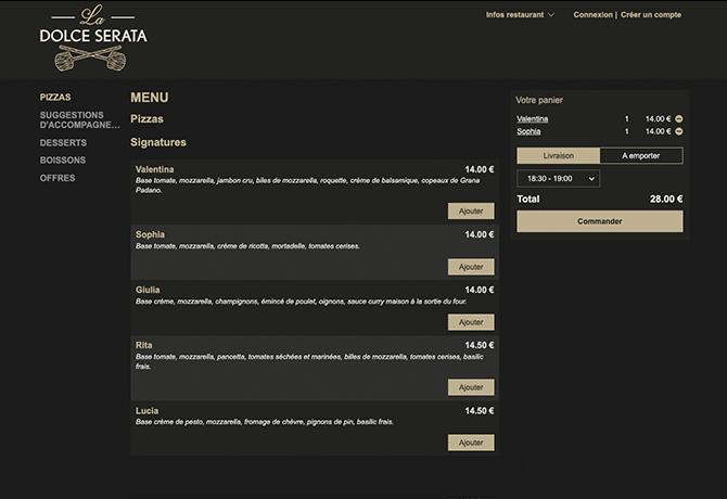 La_Dolce_Serata_portfolio_online_ordering_restaurant