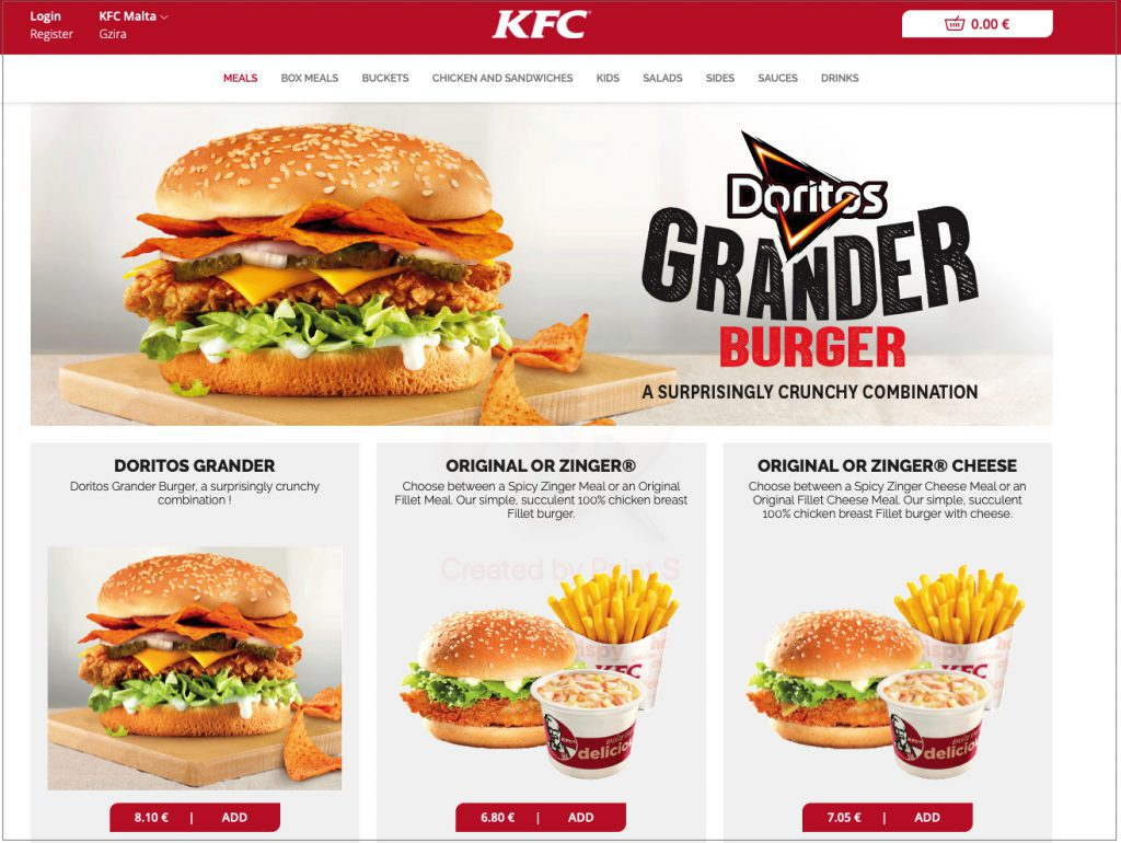 kfc_livepepper_online_ordering